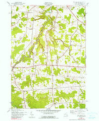 New Boston New York Historical topographic map, 1:24000 scale, 7.5 X 7.5 Minute, Year 1943