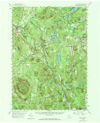 North Creek New York Historical topographic map, 1:62500 scale, 15 X 15 Minute, Year 1958