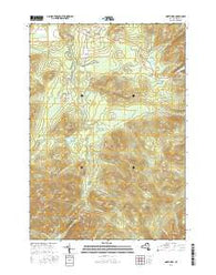 North Elba New York Current topographic map, 1:24000 scale, 7.5 X 7.5 Minute, Year 2016