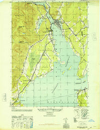 Northville New York Historical topographic map, 1:24000 scale, 7.5 X 7.5 Minute, Year 1946