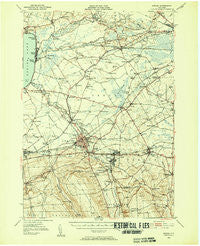 Oneida New York Historical topographic map, 1:62500 scale, 15 X 15 Minute, Year 1946