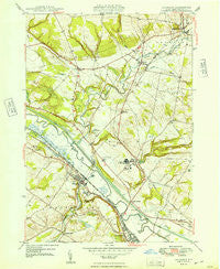 Oriskany New York Historical topographic map, 1:24000 scale, 7.5 X 7.5 Minute, Year 1949