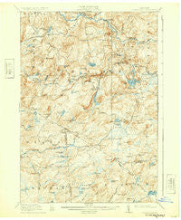 Oswegatchie New York Historical topographic map, 1:62500 scale, 15 X 15 Minute, Year 1918