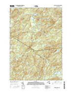 Oswegatchie SE New York Current topographic map, 1:24000 scale, 7.5 X 7.5 Minute, Year 2016 from New York Map Store
