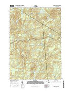 Oswegatchie SW New York Current topographic map, 1:24000 scale, 7.5 X 7.5 Minute, Year 2016 from New York Map Store
