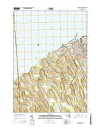 Oswego West New York Current topographic map, 1:24000 scale, 7.5 X 7.5 Minute, Year 2016 from New York Map Store