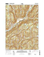 Oxford New York Current topographic map, 1:24000 scale, 7.5 X 7.5 Minute, Year 2016 from New York Map Store