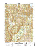 Panama New York Current topographic map, 1:24000 scale, 7.5 X 7.5 Minute, Year 2016 from New York Map Store
