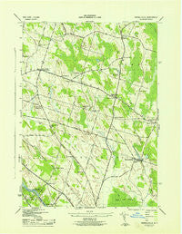 Pennellville New York Historical topographic map, 1:31680 scale, 7.5 X 7.5 Minute, Year 1943