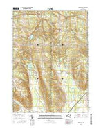 Perrysburg New York Current topographic map, 1:24000 scale, 7.5 X 7.5 Minute, Year 2016 from New York Map Store