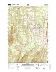 Peru New York Current topographic map, 1:24000 scale, 7.5 X 7.5 Minute, Year 2016