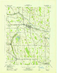 Phelps New York Historical topographic map, 1:31680 scale, 7.5 X 7.5 Minute, Year 1943
