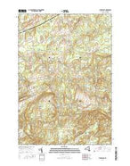 Pierrepont New York Current topographic map, 1:24000 scale, 7.5 X 7.5 Minute, Year 2016 from New York Map Store