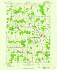 Pike New York Historical topographic map, 1:24000 scale, 7.5 X 7.5 Minute, Year 1943