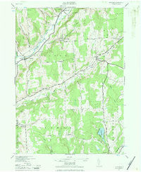 Pitcher New York Historical topographic map, 1:24000 scale, 7.5 X 7.5 Minute, Year 1943