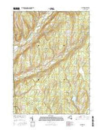 Pitcher New York Current topographic map, 1:24000 scale, 7.5 X 7.5 Minute, Year 2016 from New York Map Store