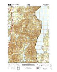 Port Douglass New York Current topographic map, 1:24000 scale, 7.5 X 7.5 Minute, Year 2016