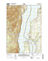 Port Henry New York Current topographic map, 1:24000 scale, 7.5 X 7.5 Minute, Year 2016