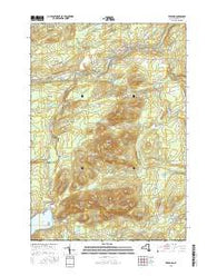 Redford New York Current topographic map, 1:24000 scale, 7.5 X 7.5 Minute, Year 2016