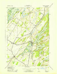 Redwood New York Historical topographic map, 1:31680 scale, 7.5 X 7.5 Minute, Year 1943