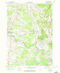 Richland New York Historical topographic map, 1:24000 scale, 7.5 X 7.5 Minute, Year 1958