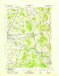 Richland New York Historical topographic map, 1:31680 scale, 7.5 X 7.5 Minute, Year 1943