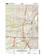 Rochester West New York Current topographic map, 1:24000 scale, 7.5 X 7.5 Minute, Year 2016 from New York Map Store