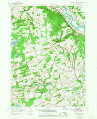 Rotterdam Junction New York Historical topographic map, 1:24000 scale, 7.5 X 7.5 Minute, Year 1954
