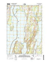 Rouses Point New York Current topographic map, 1:24000 scale, 7.5 X 7.5 Minute, Year 2016