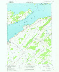 Saint Lawrence New York Historical topographic map, 1:24000 scale, 7.5 X 7.5 Minute, Year 1958