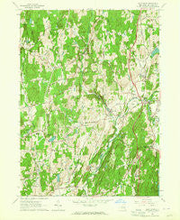 Salt Point New York Historical topographic map, 1:24000 scale, 7.5 X 7.5 Minute, Year 1963
