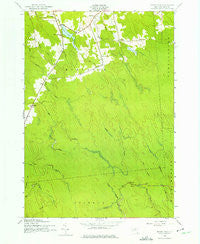 Sears Pond New York Historical topographic map, 1:24000 scale, 7.5 X 7.5 Minute, Year 1943