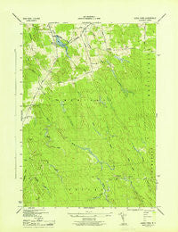 Sears Pond New York Historical topographic map, 1:31680 scale, 7.5 X 7.5 Minute, Year 1943
