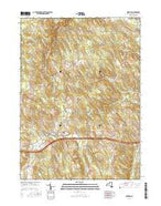 Sherman New York Current topographic map, 1:24000 scale, 7.5 X 7.5 Minute, Year 2016 from New York Map Store