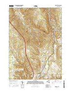 Springville New York Current topographic map, 1:24000 scale, 7.5 X 7.5 Minute, Year 2016 from New York Map Store