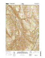Strykersville New York Current topographic map, 1:24000 scale, 7.5 X 7.5 Minute, Year 2016 from New York Map Store