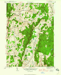 Verbank New York Historical topographic map, 1:24000 scale, 7.5 X 7.5 Minute, Year 1946