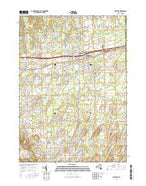 Webster New York Current topographic map, 1:24000 scale, 7.5 X 7.5 Minute, Year 2016 from New York Map Store