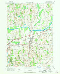 Weedsport New York Historical topographic map, 1:24000 scale, 7.5 X 7.5 Minute, Year 1954