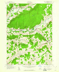 West Davenport New York Historical topographic map, 1:24000 scale, 7.5 X 7.5 Minute, Year 1943