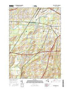 West Henrietta New York Current topographic map, 1:24000 scale, 7.5 X 7.5 Minute, Year 2016 from New York Map Store