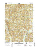 West Valley New York Current topographic map, 1:24000 scale, 7.5 X 7.5 Minute, Year 2016 from New York Map Store