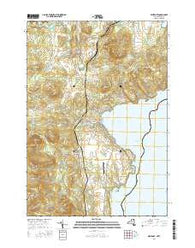 Westport New York Current topographic map, 1:24000 scale, 7.5 X 7.5 Minute, Year 2016