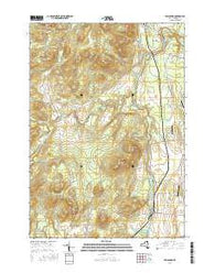 Willsboro New York Current topographic map, 1:24000 scale, 7.5 X 7.5 Minute, Year 2016
