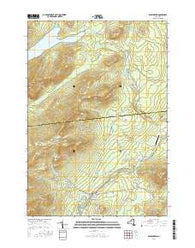 Wilmington New York Current topographic map, 1:24000 scale, 7.5 X 7.5 Minute, Year 2016