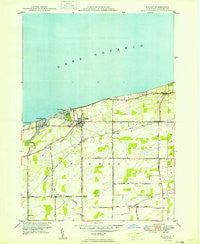 Wilson New York Historical topographic map, 1:24000 scale, 7.5 X 7.5 Minute, Year 1949