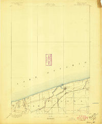 Wilson New York Historical topographic map, 1:62500 scale, 15 X 15 Minute, Year 1894