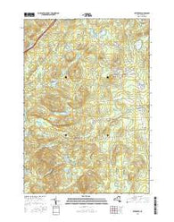 Witherbee New York Current topographic map, 1:24000 scale, 7.5 X 7.5 Minute, Year 2016
