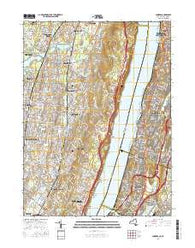 Yonkers New York Current topographic map, 1:24000 scale, 7.5 X 7.5 Minute, Year 2016