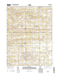 Ada Ohio Historical topographic map, 1:24000 scale, 7.5 X 7.5 Minute, Year 2013